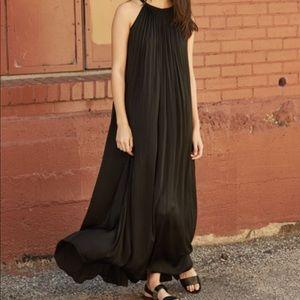 Vince Sunburst pleated maxi dress 6